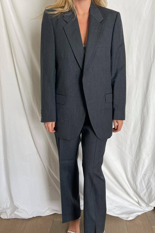 Beautiful vintage YSL suit, available on havrestudio.com Emily Ratajkowski Outerwear Exact Product
