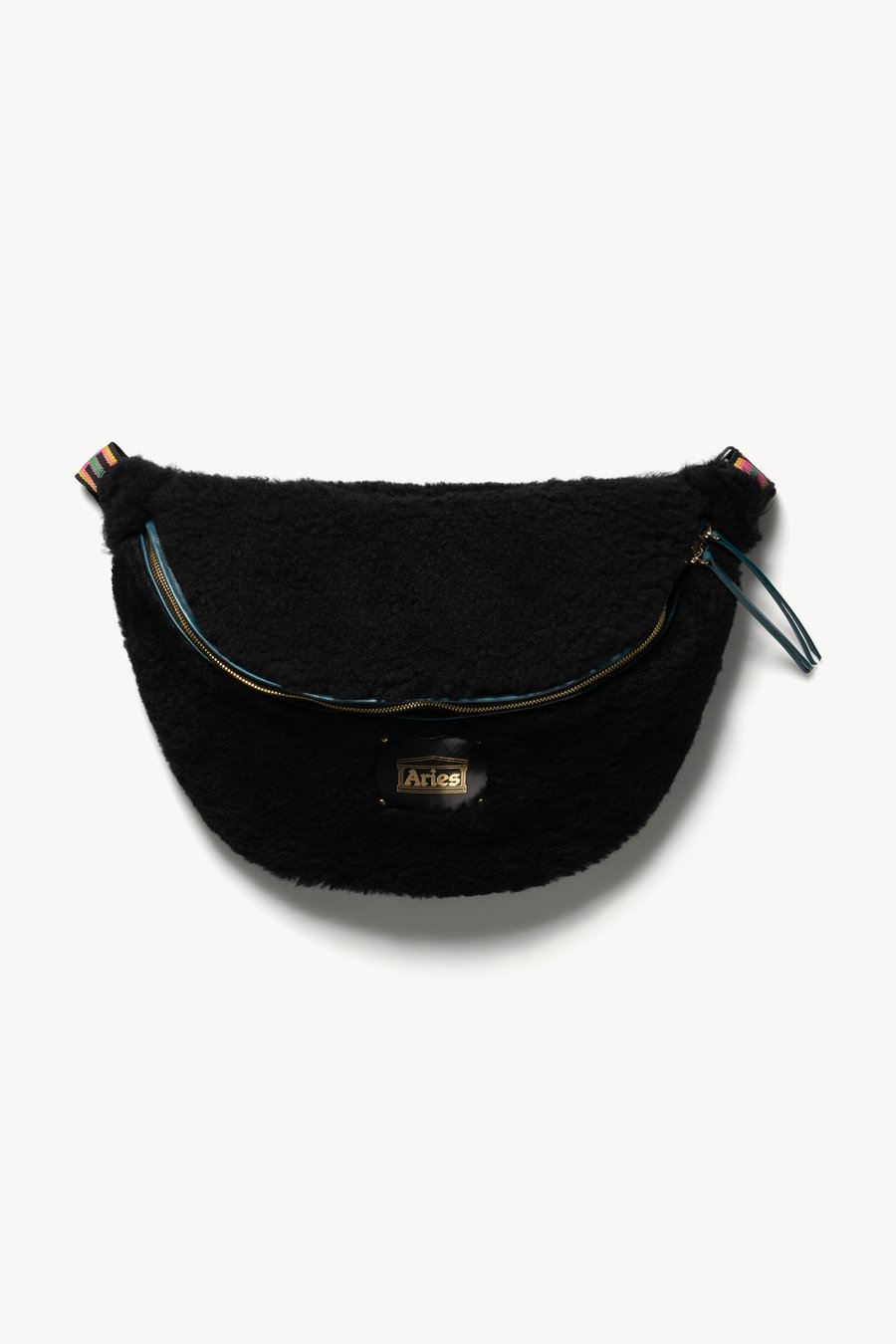 Elis Sheepskin Bag by Aries, available on ariesarise.com for $720 Emily Ratajkowski Bags Exact Product