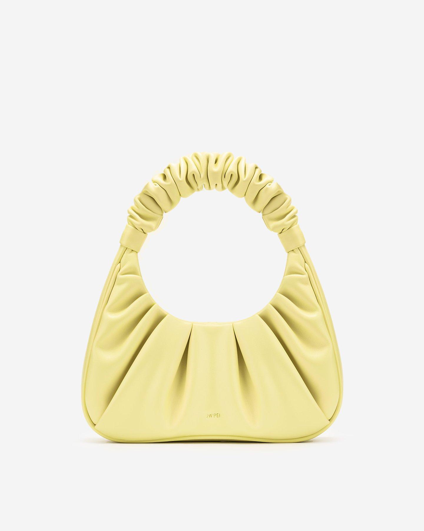 Gabbi Bag - Light Yellow by Jw Pei, available on jwpei.com for $58 Emily Ratajkowski Bags Exact Product