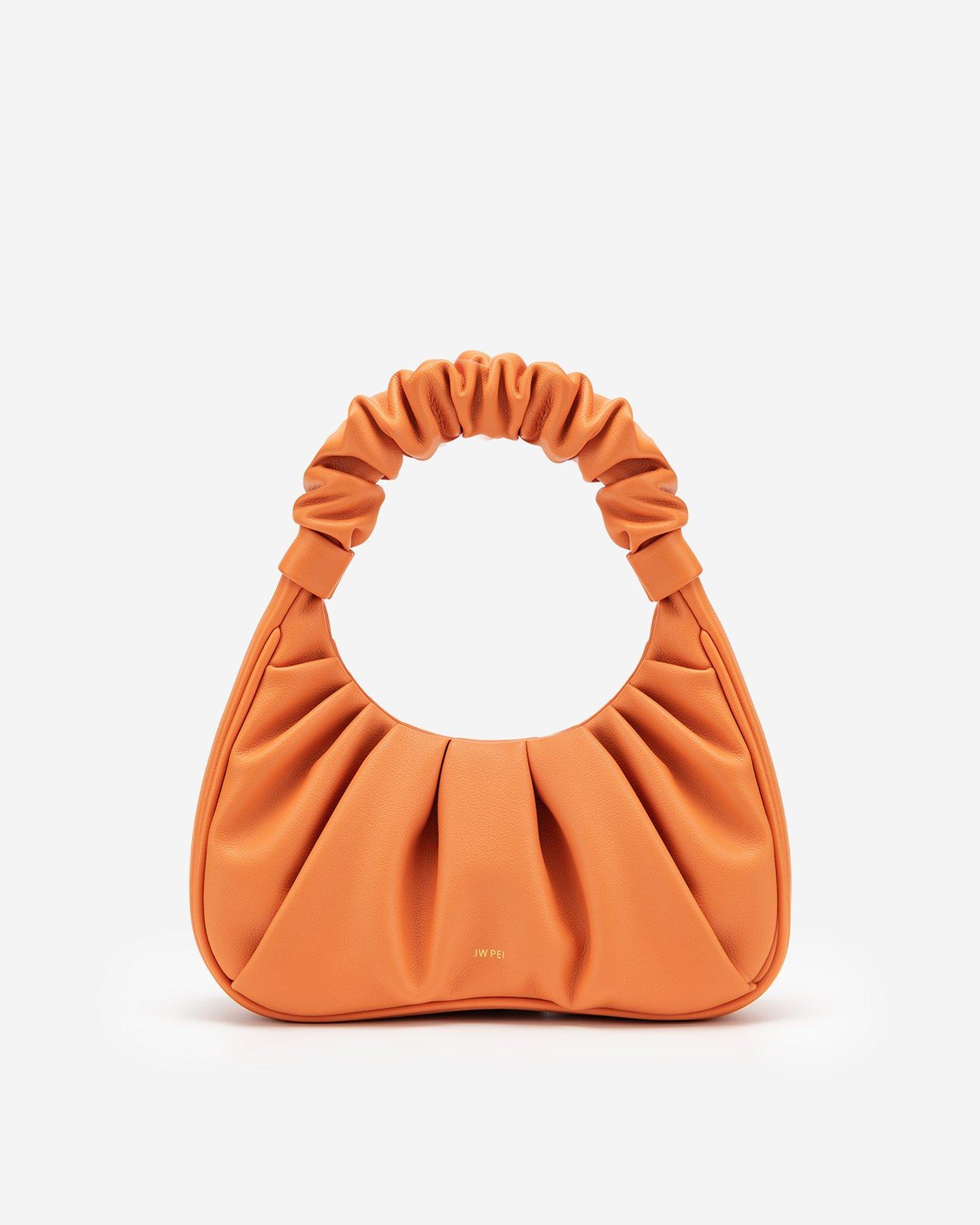 Gabbi Bag - Orange by JW PEI, available on jwpei.com for $72 Emily Ratajkowski Bags Exact Product