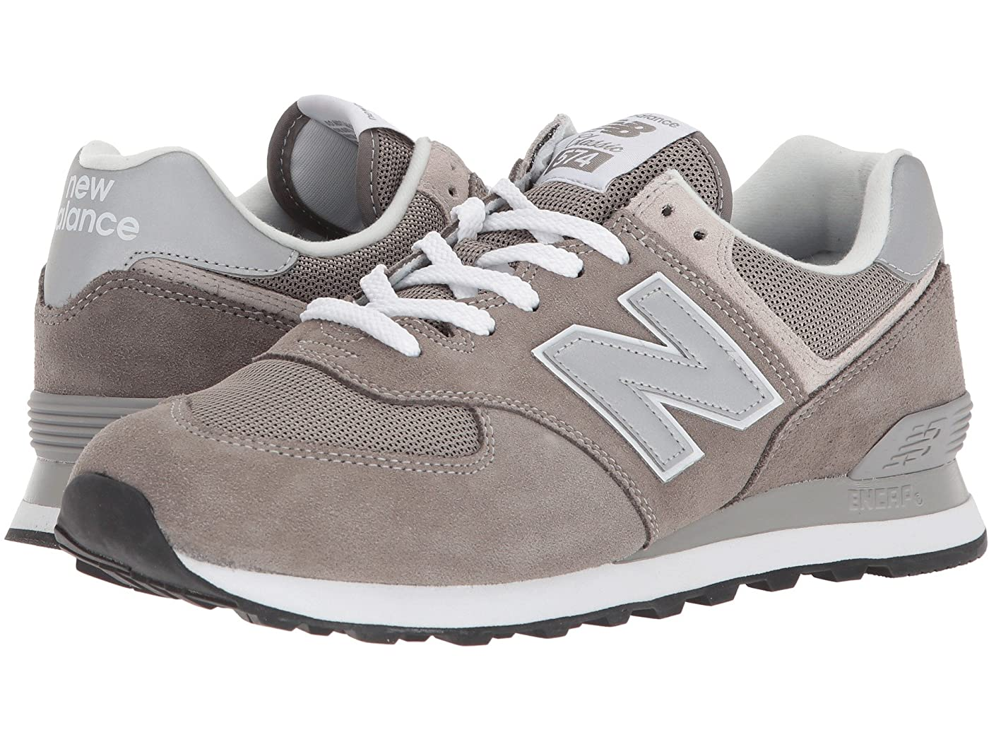 ML574v2 by New Balance, available on zappos.com for $79.95 Emily Ratajkowski Shoes Exact Product