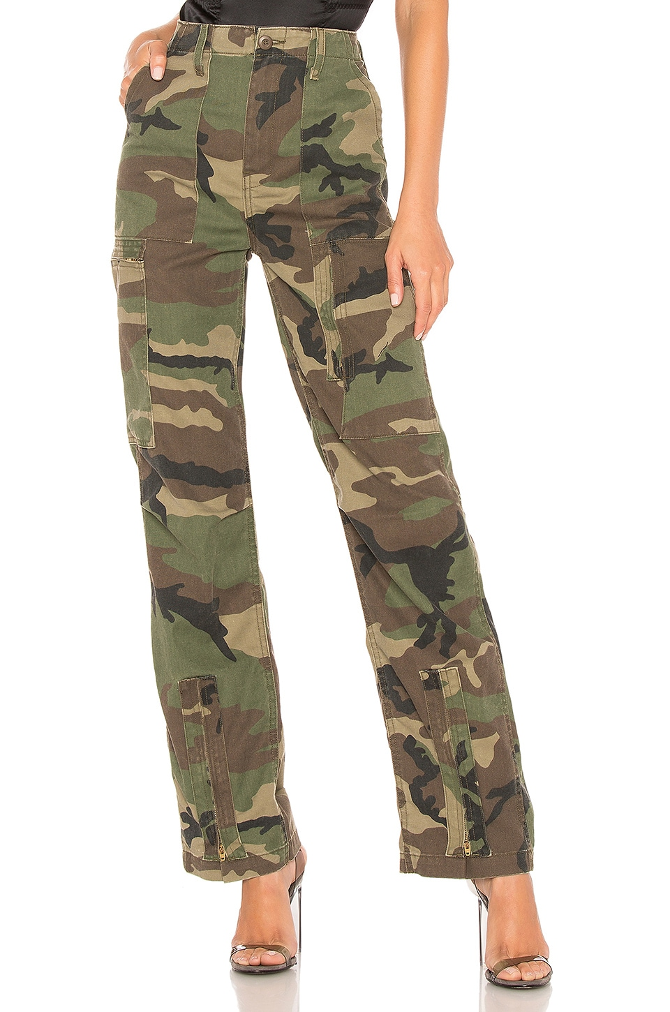 Originals High Waisted Cargo Pant by re/done, available on revolve.com Emily Ratajkowski Pants Exact Product