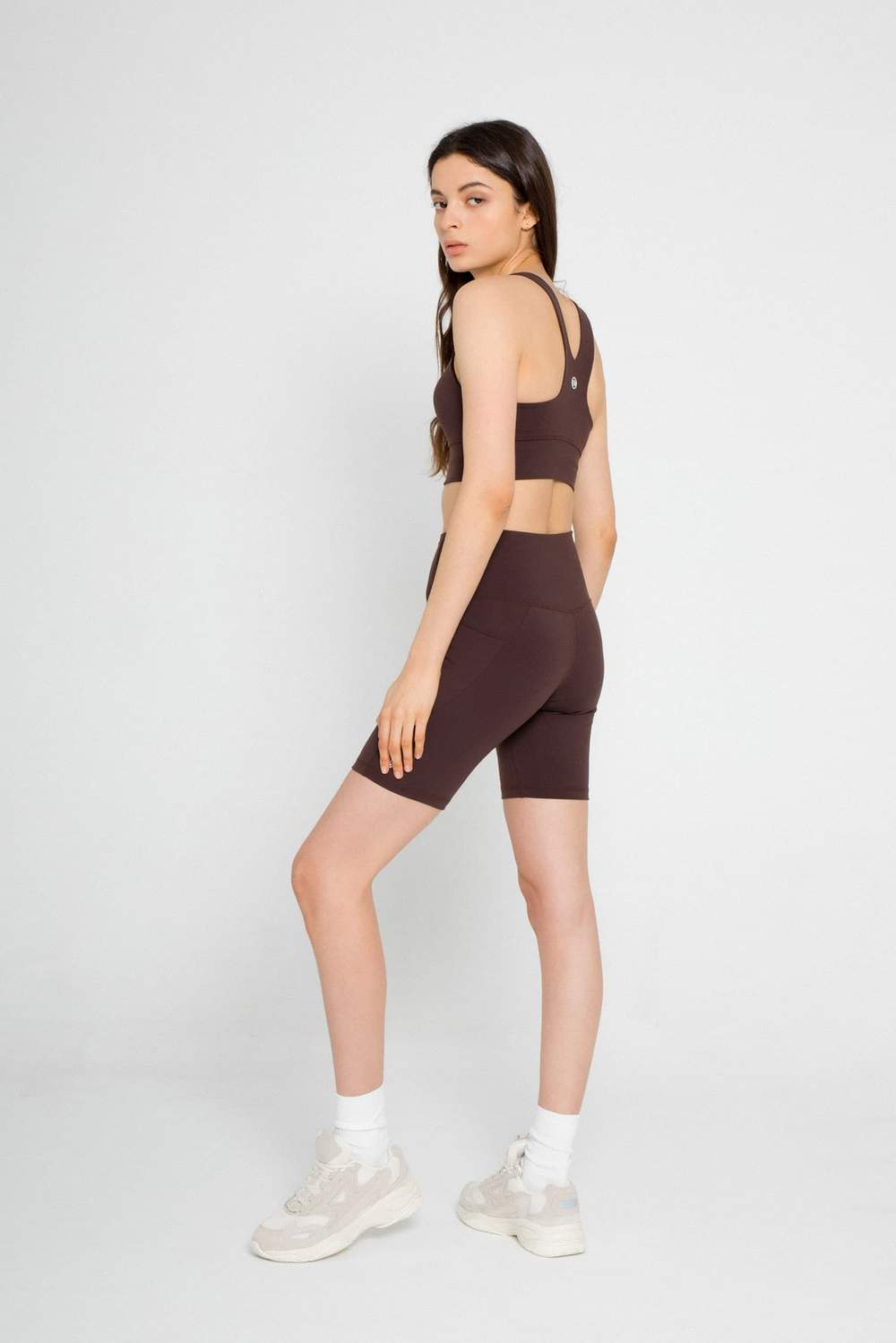 SAHARA BIKER SHORTS by ENVT, available on enavantactive.com for $64 Emily Ratajkowski Shorts Exact Product