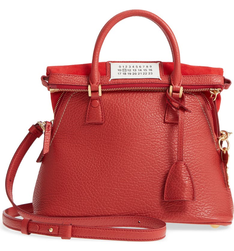 Small 5AC Calfskin Leather Handbag by MAISON MARGIELA, available on nordstrom.com Emily Ratajkowski Bags Exact Product