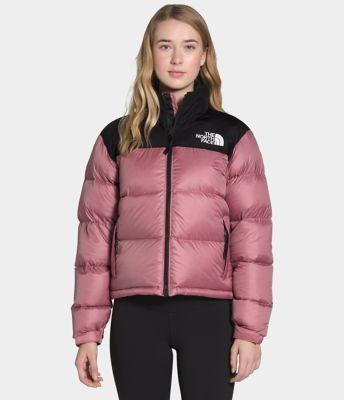 Women's 1996 Retro Nuptse Jacket by The North face, available on thenorthface.com for $280 Emily Ratajkowski Outerwear Exact Product