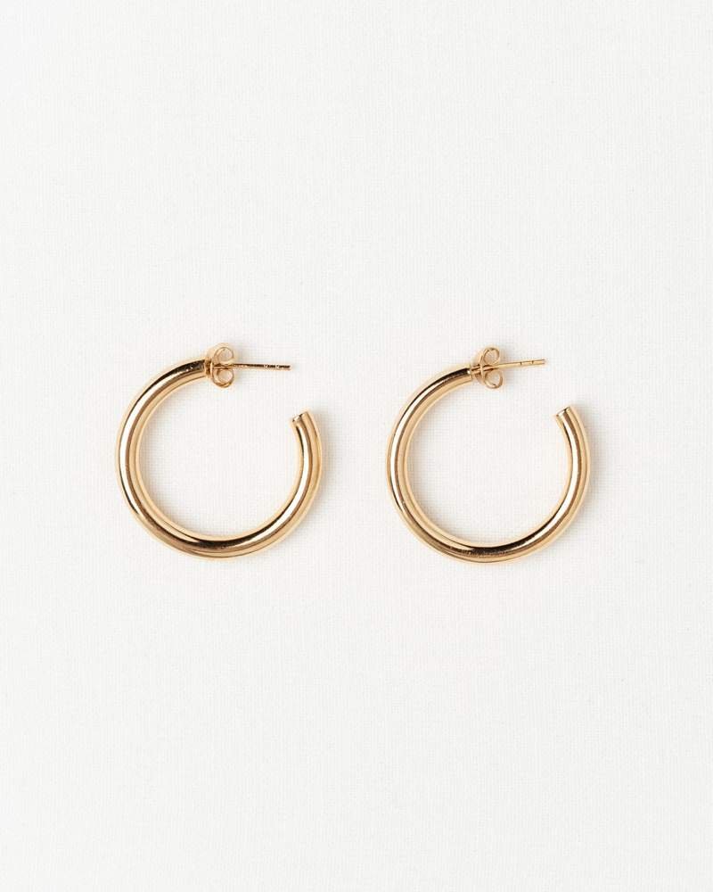 the Saint-Tropez Hoops by Bruna, available on brunathelabel.com for EUR75 Emily Ratajkowski Jewellery Exact Product
