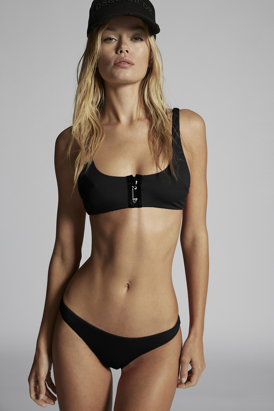 D2Line Scoop Bikini Top by Dsquared2, available on dsquared2.com for $210 Frida Aasen Top Exact Product