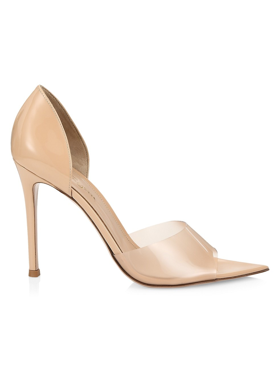 Bree PVC d'Orsay Pumps by Gianvito Rossi, available on saksfifthavenue.com for $745 Gigi Hadid Shoes Exact Product