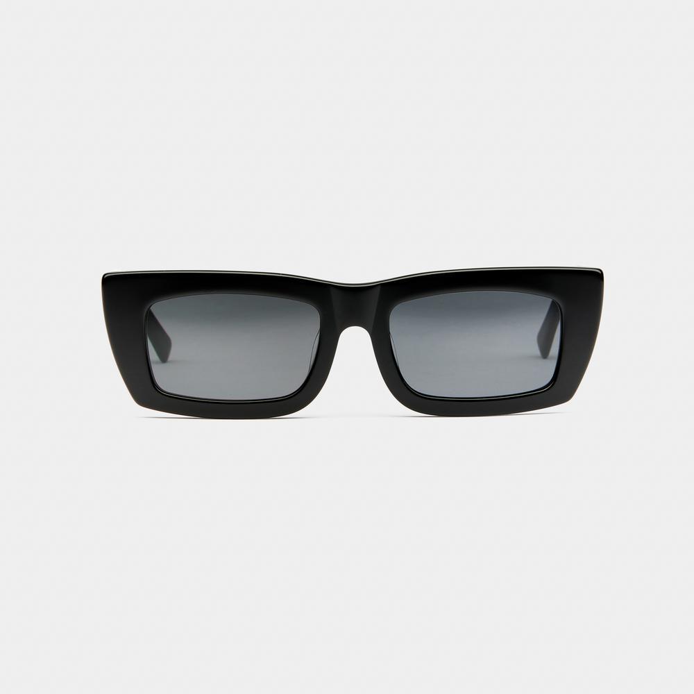 FLORENCE - BLACK/SMOKE by Vehla, available on vehlaeyewear.com for ₹15000 Gigi Hadid Sunglasses Exact Product
