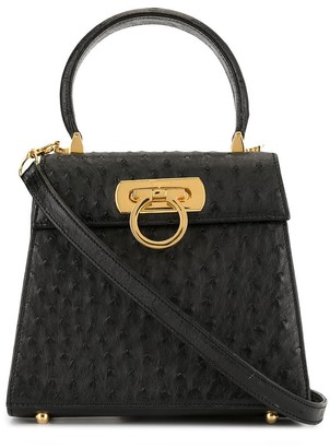 Pre-Owned small Gancini 2way tote by Salvatore Ferragamo, available on shopstyle.com for $2618 Gigi Hadid Bags Exact Product
