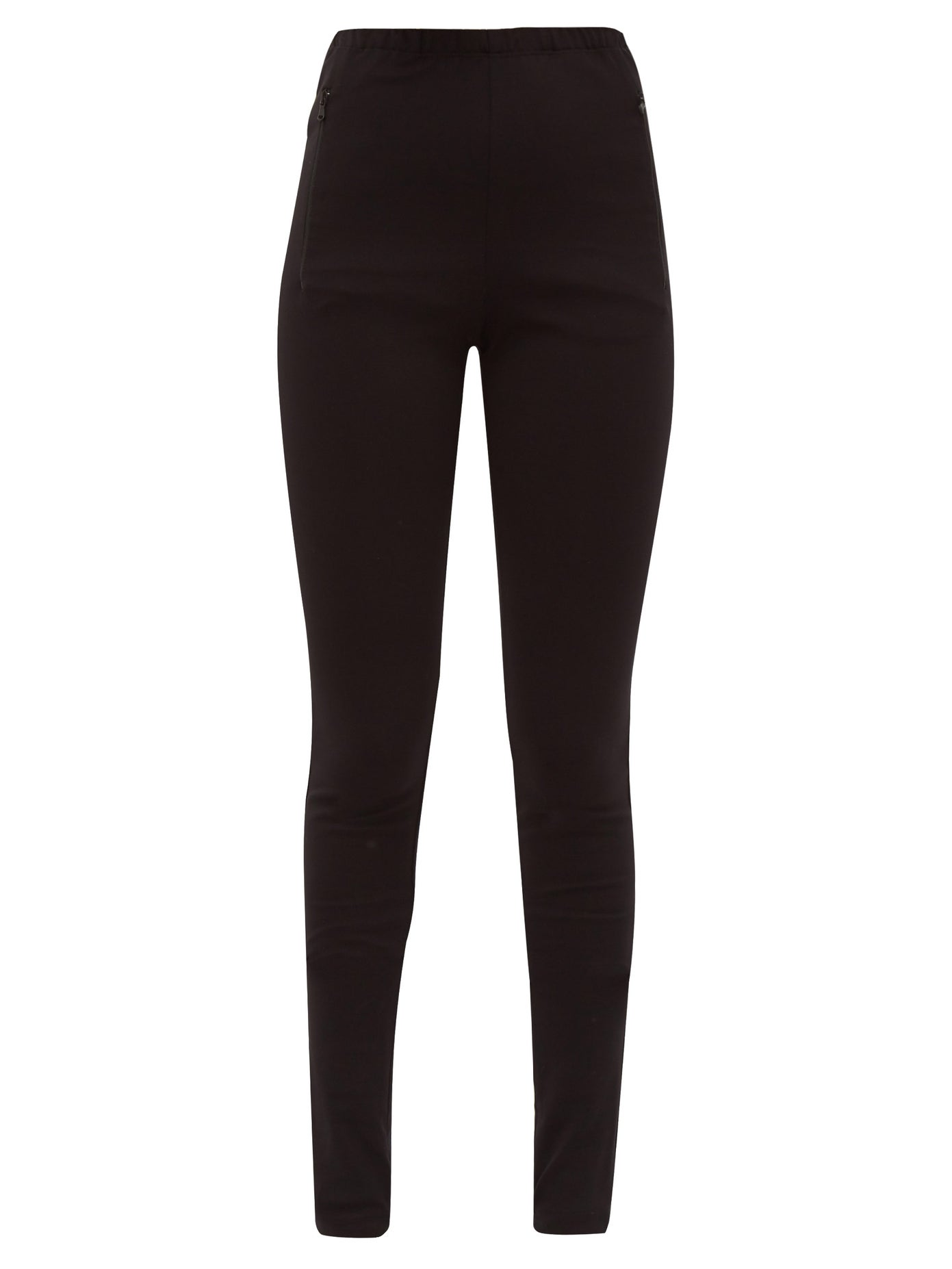 Release 03 zip-cuff jersey leggings by Wardrobe Nyc, available on matchesfashion.com for EUR188 Gigi Hadid Pants Exact Product