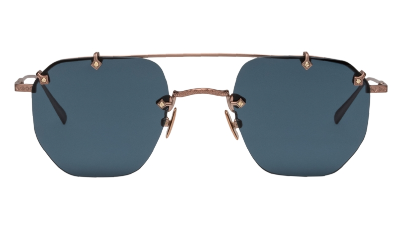 SHIPROCK BRUSHED ROSE GOLD by Tejesta, available on tejesta.com for $225 Gigi Hadid Sunglasses Exact Product