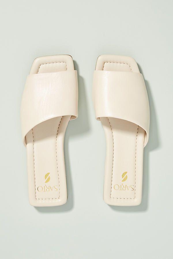 Sarto Bordo Sandal by Franco Sarto, available on francosarto.com for $99 Gigi Hadid Shoes Exact Product