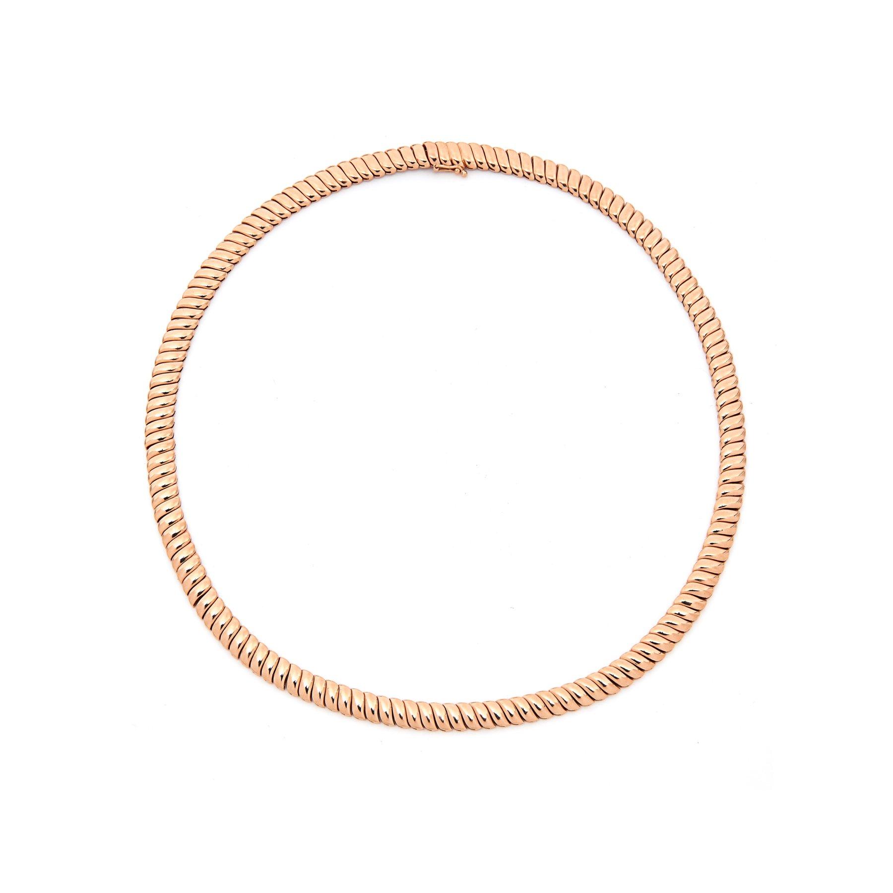 18k gold plain Zoe choker by ZOE CHOKER, available on anitako.com for $15550 Hailey Baldwin Jewellery Exact Product