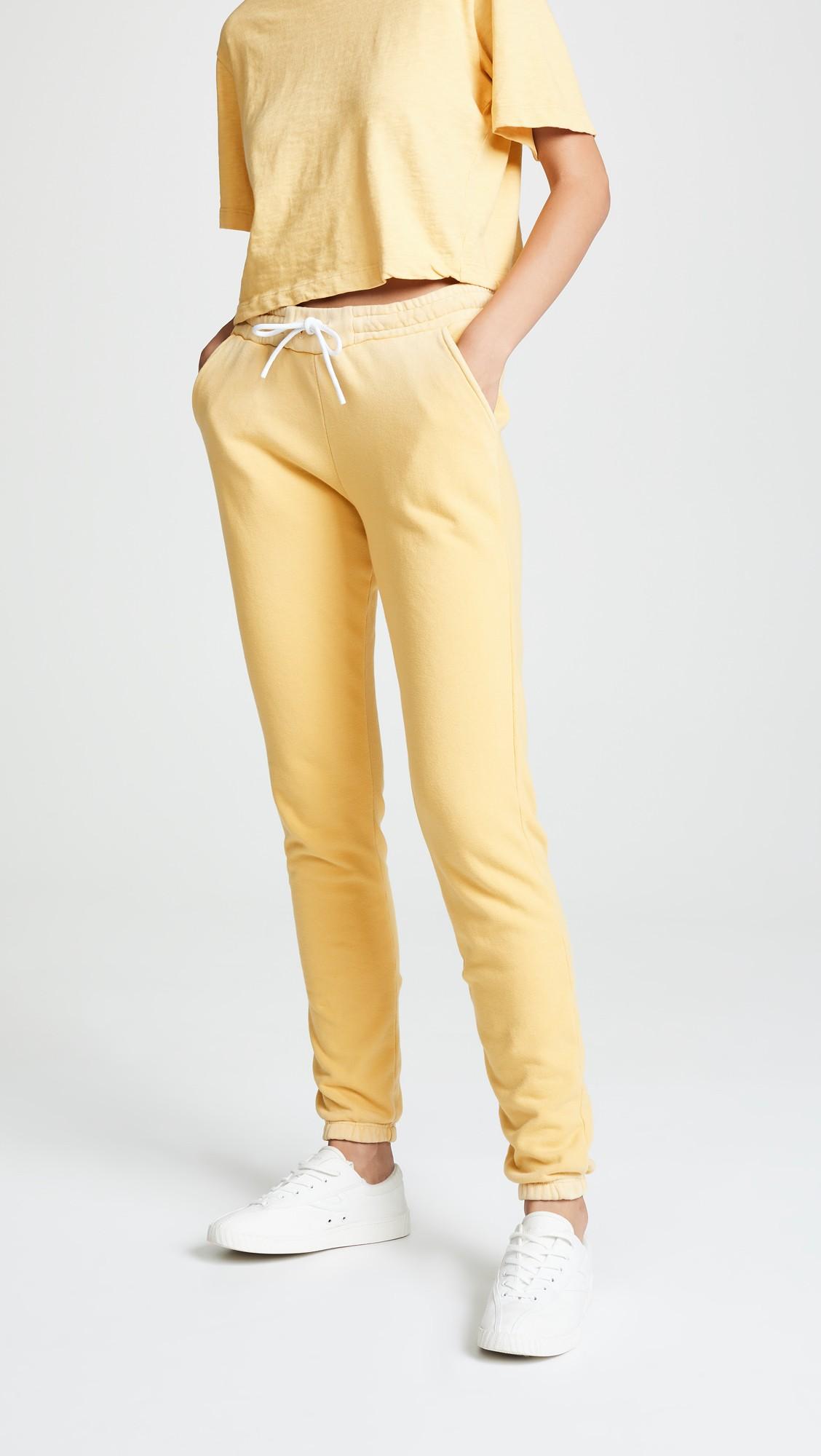 Aspen Sweatpants by Cotton Citizen, available on shopbop.com for $97.5 Hailey Baldwin Pants Exact Product