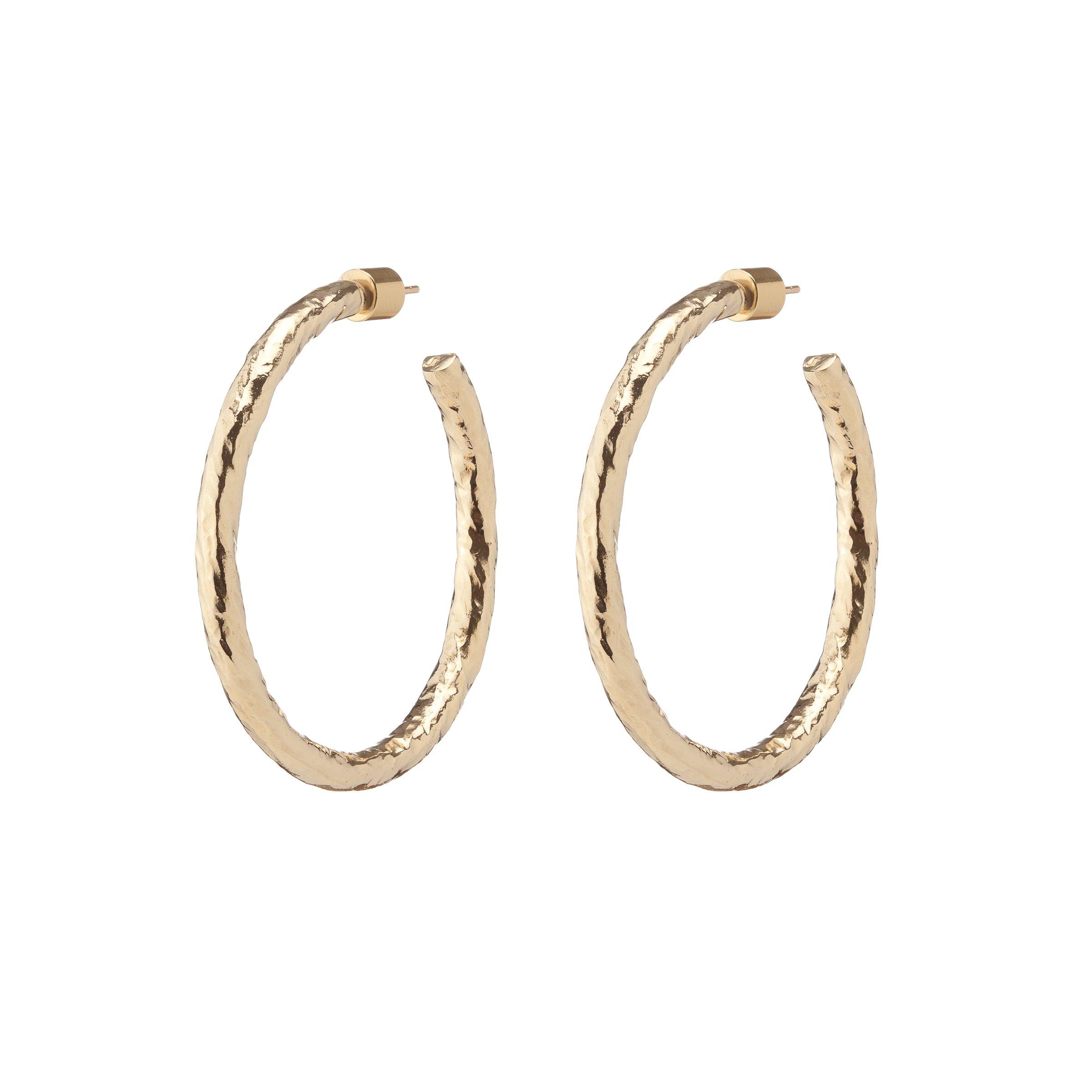 BABY HAILEY HOOPS by Jennifer Fisher, available on jenniferfisherjewelry.com for $550 Hailey Baldwin Jewellery Exact Product
