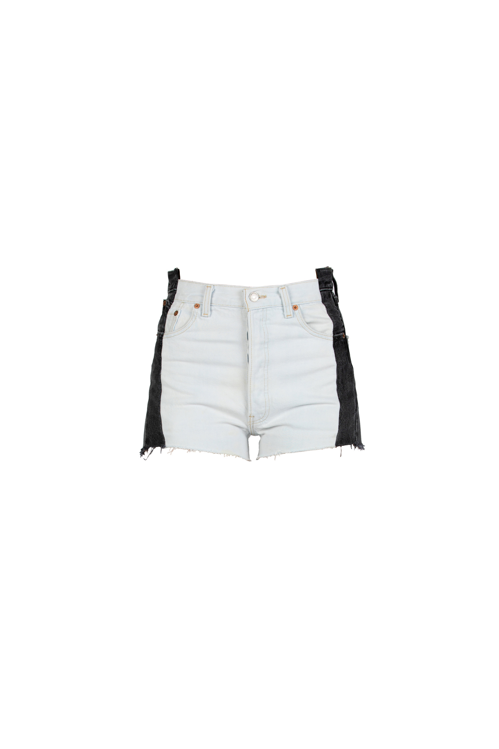 Black & White Shorts by EB Denim, available on ebdenim.com for $243 Hailey Baldwin Shorts SIMILAR PRODUCT