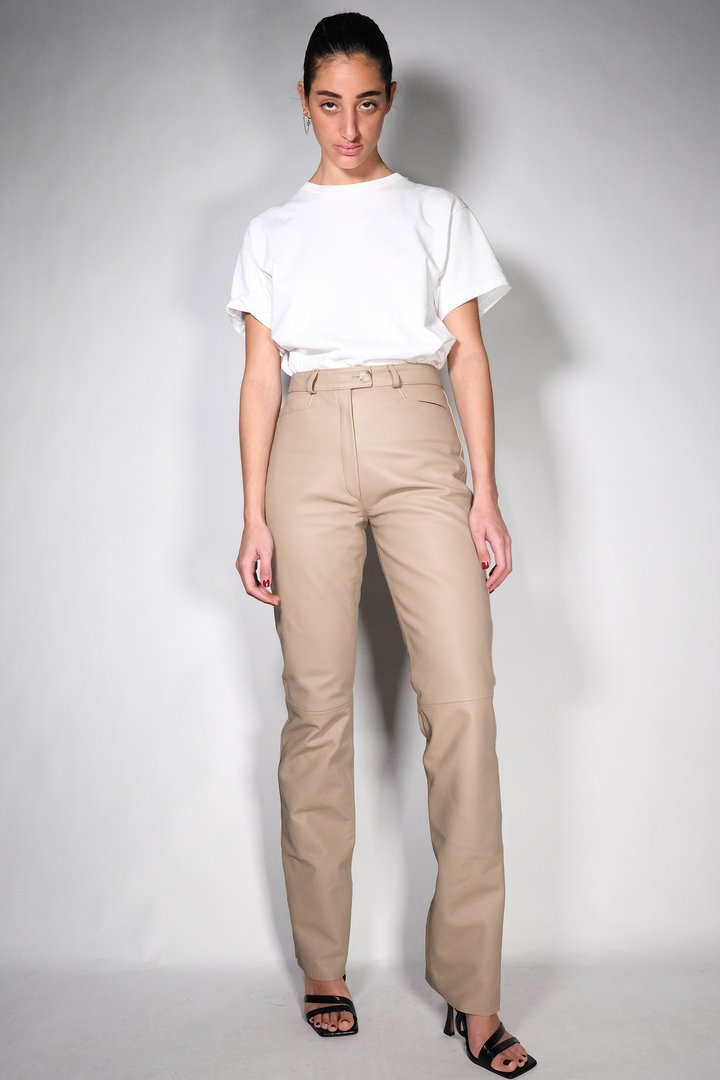 COME TO MAMA BISCUIT by Nour Hammour, available on nour-hammour.com for EUR600 Hailey Baldwin Pants Exact Product