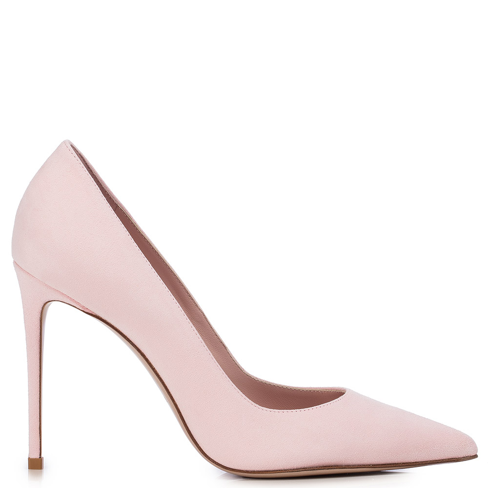 EVA PUMP 100 MM by Lesilla, available on lesilla.com for $632 Hailey Baldwin Shoes Exact Product