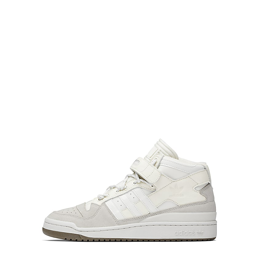 FORUM MID SHOES by ADIDAS, available on adidas.ca for $200 Hailey Baldwin Shoes Exact Product