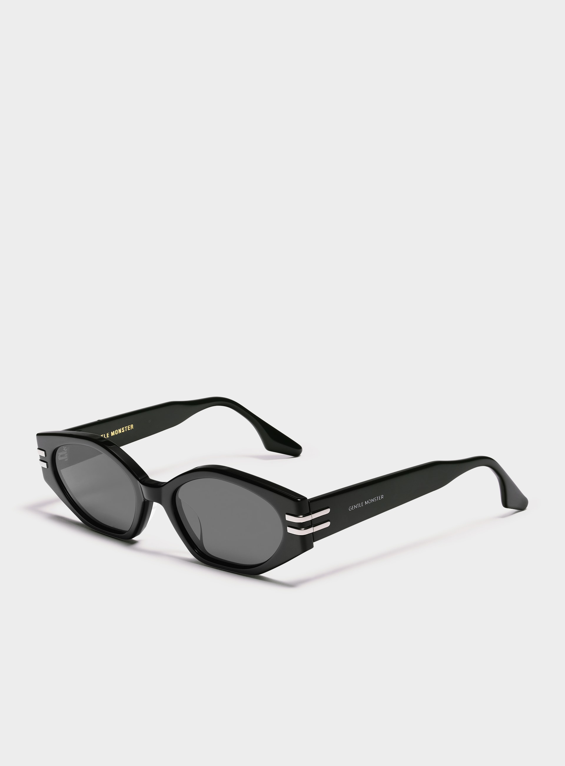Ghost 01 by Gentle Monster, available on detail.php for $320 Hailey Baldwin Sunglasses Exact Product