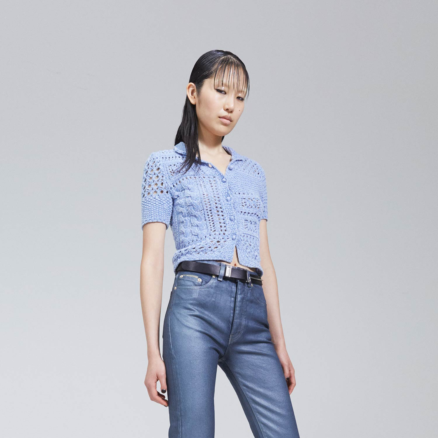 Juli Top by eytys, available on eytys.com for SEK1600 Hailey Baldwin Top Exact Product