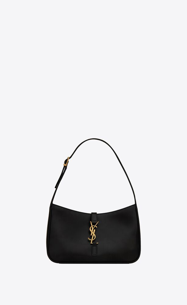 LE 5 À 7 HOBO BAG IN SMOOTH LEATHER by Saint Laurent, available on ysl.com for $1690 Hailey Baldwin Bags Exact Product