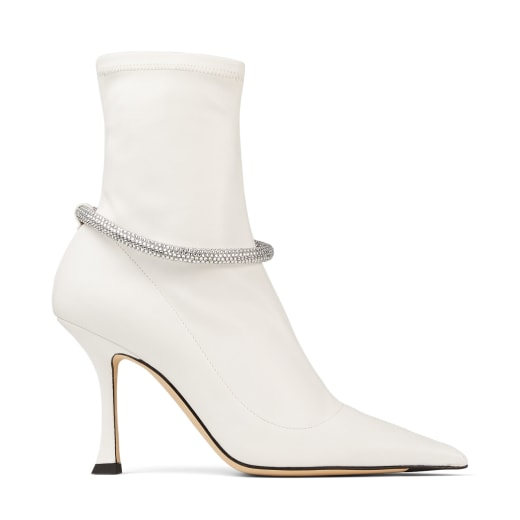 LEROY 90 by Jimmy Choo, available on jimmychoo.com for $1325 Hailey Baldwin Shoes Exact Product
