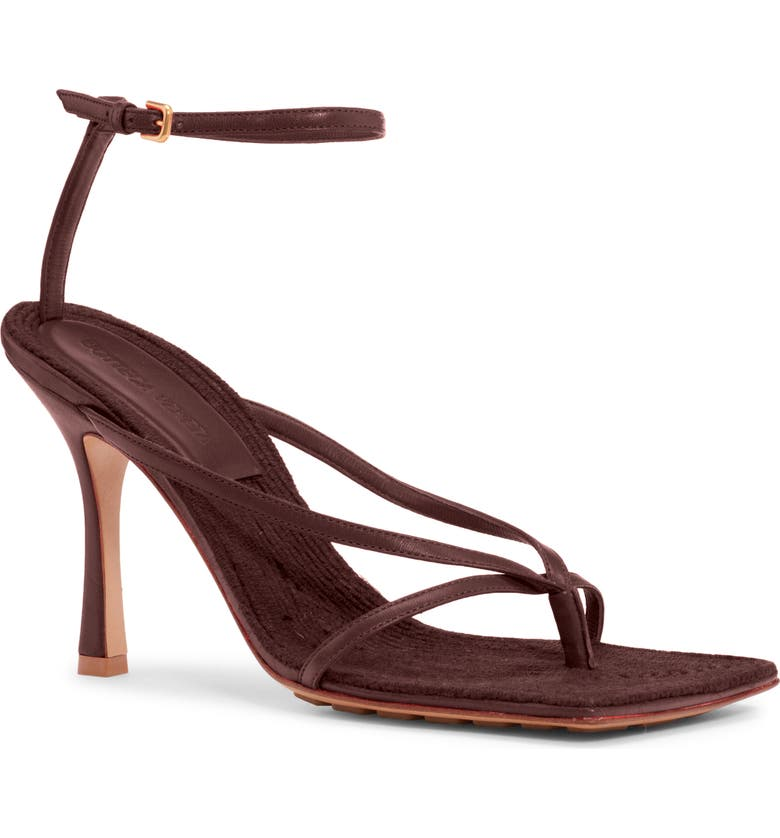 Lounge Sandal by BOTTEGA VENETA, available on nordstrom.com for $890 Hailey Baldwin Shoes Exact Product