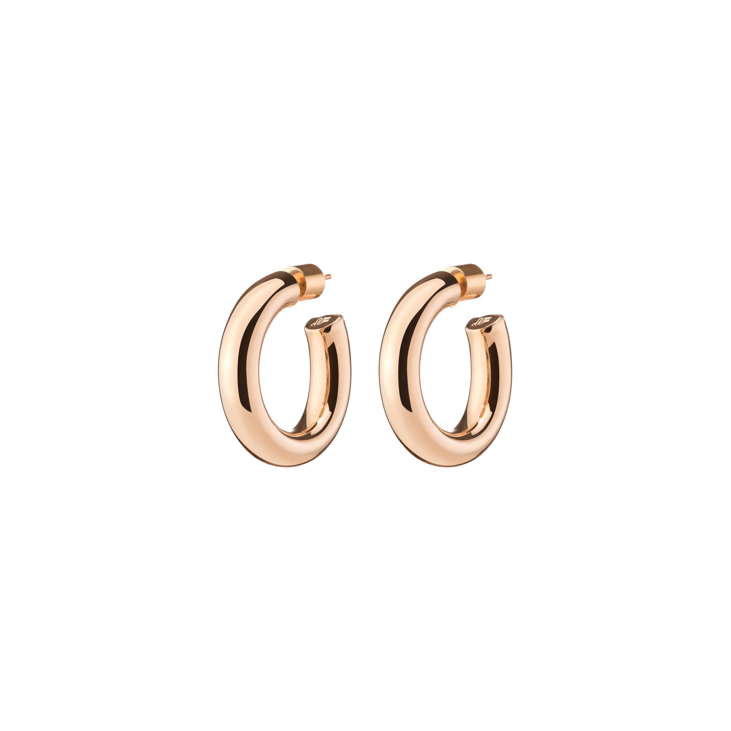 NATASHA HUGGIES by Jennifer Fisher, available on jenniferfisherjewelry.com for $195 Hailey Baldwin Jewellery Exact Product