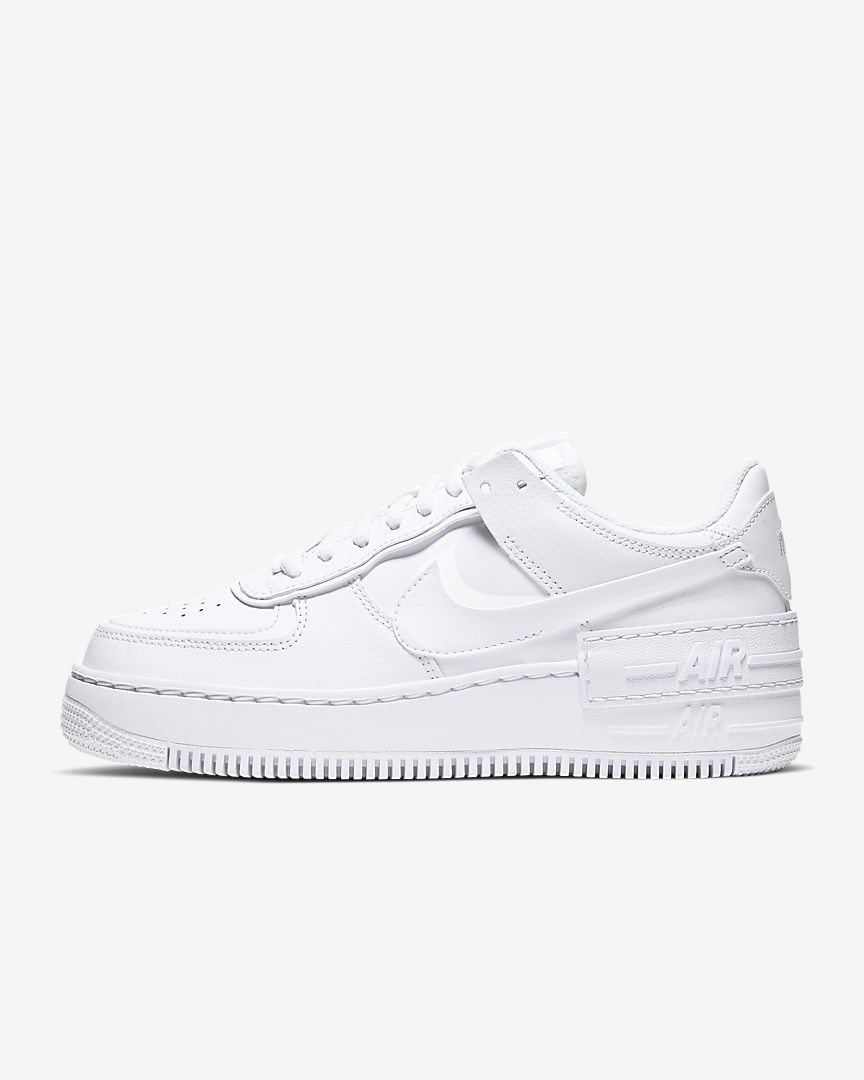 Nike Air Force 1 Shadow by NIKE, available on nike.com for $110 Hailey Baldwin Shoes Exact Product