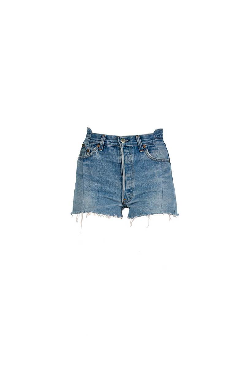 OG Shorts by EB Denim, available on ebdenim.com for $215 Hailey Baldwin Shorts Exact Product