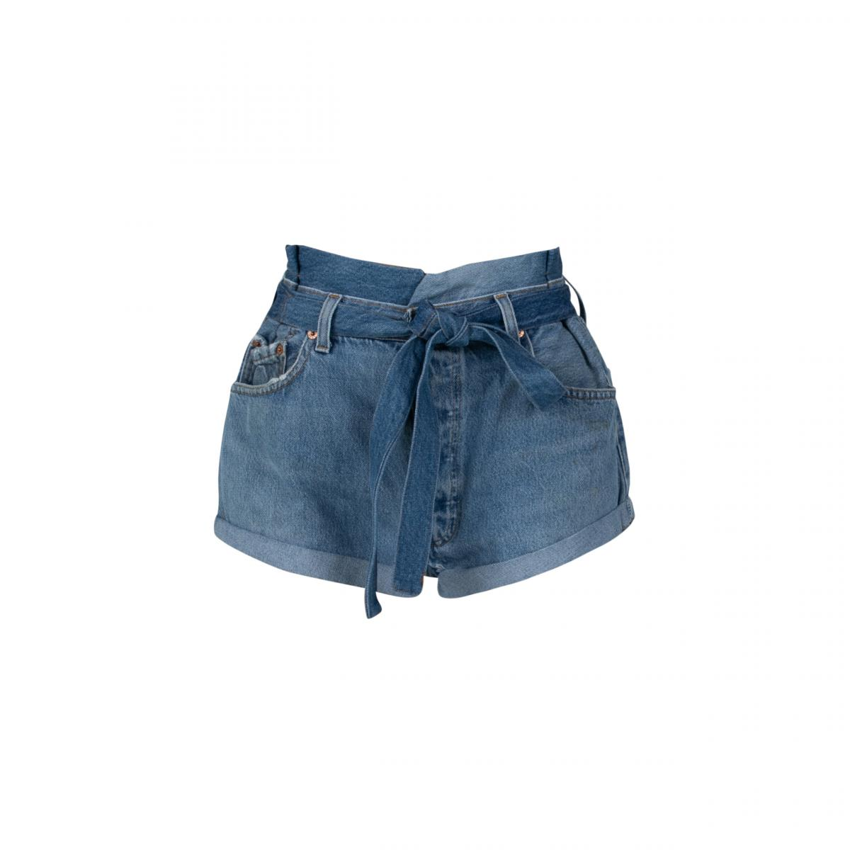 Paperbag Shorts by EB Denim, available on ebdenim.com for $185 Hailey Baldwin Shorts SIMILAR PRODUCT