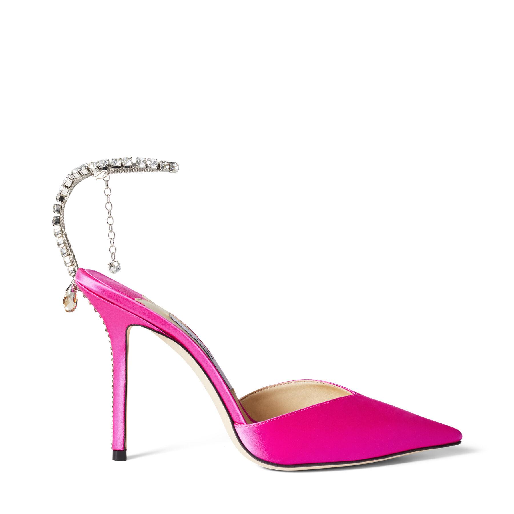 SAEDA 100 by Jimmy Choo, available on jimmychoo.com for EUR850 Hailey Baldwin Shoes Exact Product