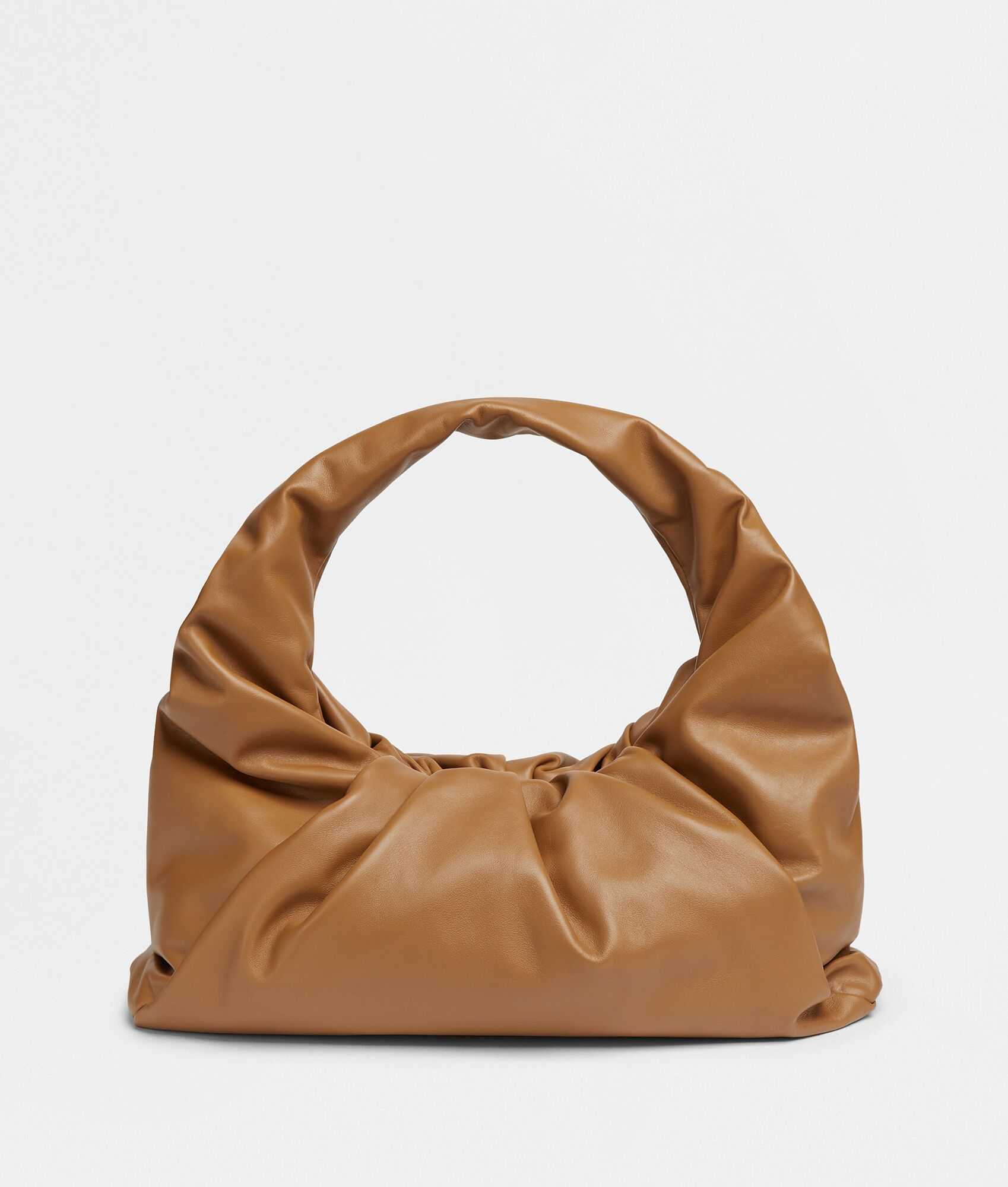 SHOULDER POUCH by Bottega Veneta, available on bottegaveneta.com for $2800 Hailey Baldwin Bags Exact Product