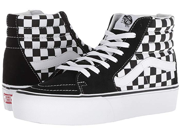 SK8-Hi Platform 2.0 by Vans, available on zappos.com for $69.95 Hailey Baldwin Shoes Exact Product