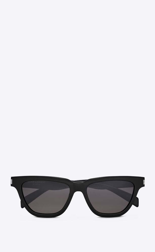 SL 462 by Saint Laurent, available on ysl.com for $405 Hailey Baldwin Sunglasses Exact Product