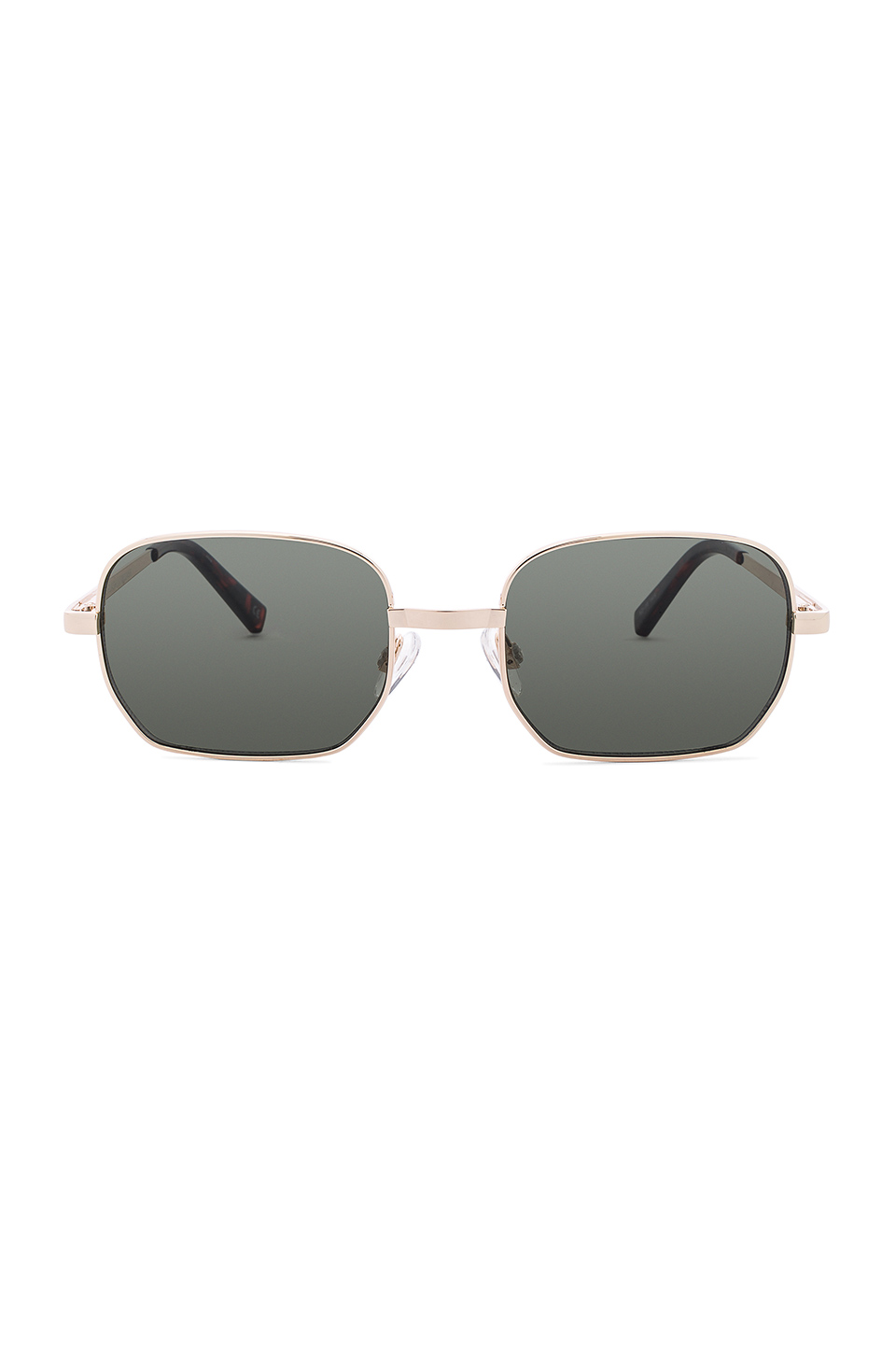 The Flash Sunglasses by Le Specs, available on revolve.com Hailey Baldwin Sunglasses Exact Product