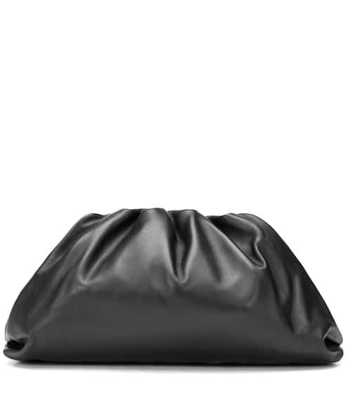 The Pouch leather clutch by Bottega Veneta, available on mytheresa.com for $2550 Hailey Baldwin Bags SIMILAR PRODUCT