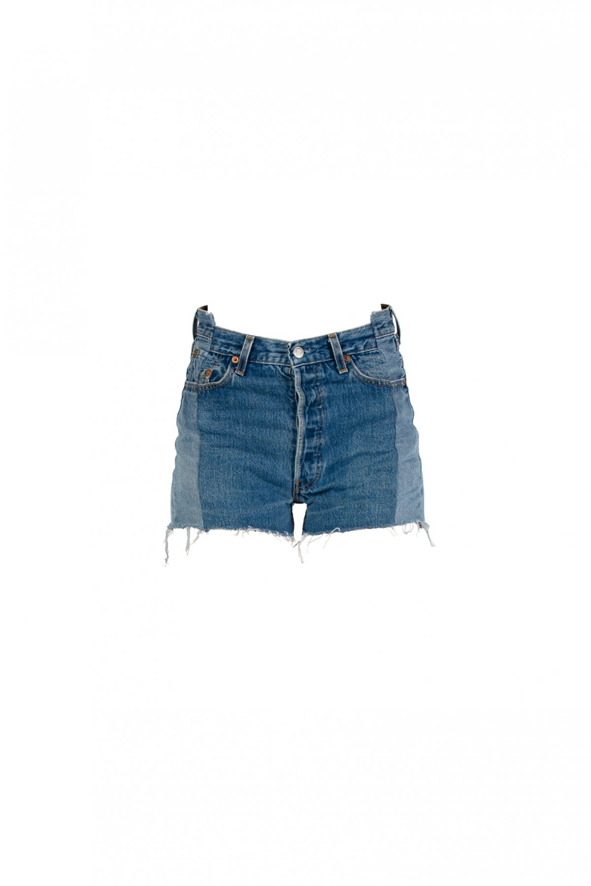 Two Toned Shorts by EB Denim, available on ebdenim.com for $215 Hailey Baldwin Shorts SIMILAR PRODUCT