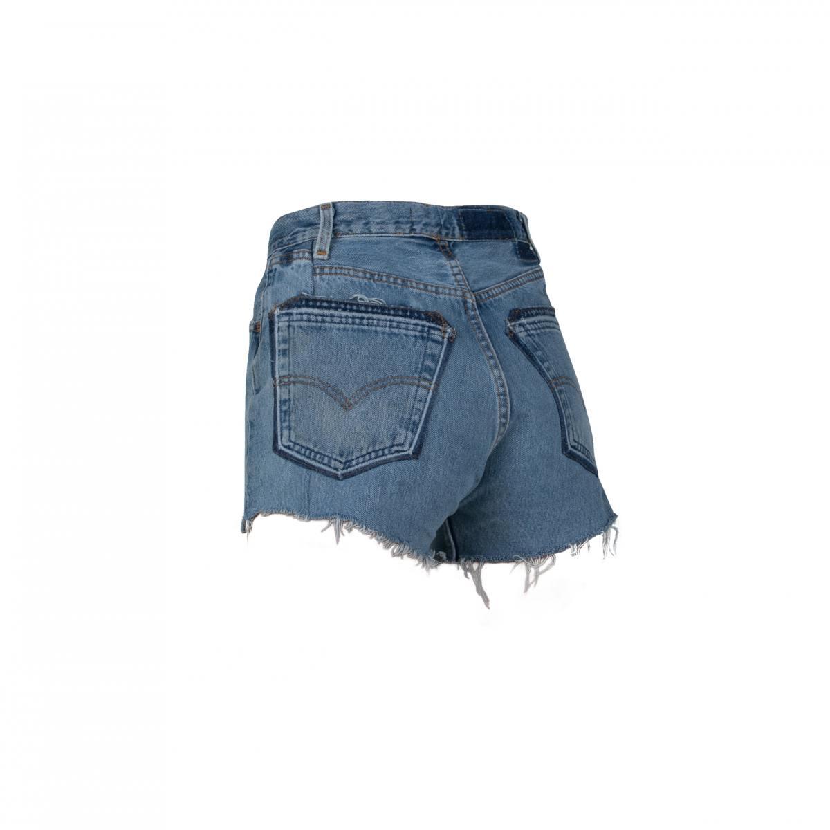 Unraveled Shorts by EB Denim, available on ebdenim.com for $195 Hailey Baldwin Shorts SIMILAR PRODUCT
