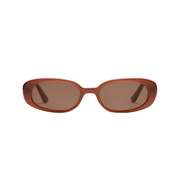 VELVETINES CHOCOLATE by Velvet Canyon, available on thelair.com.au for $269 Hailey Baldwin Sunglasses Exact Product