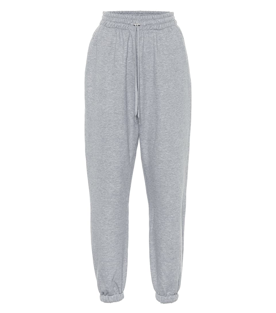 Vanessa cotton sweatpants by Frankie, available on mytheresa.com for $195 Hailey Baldwin Pants Exact Product