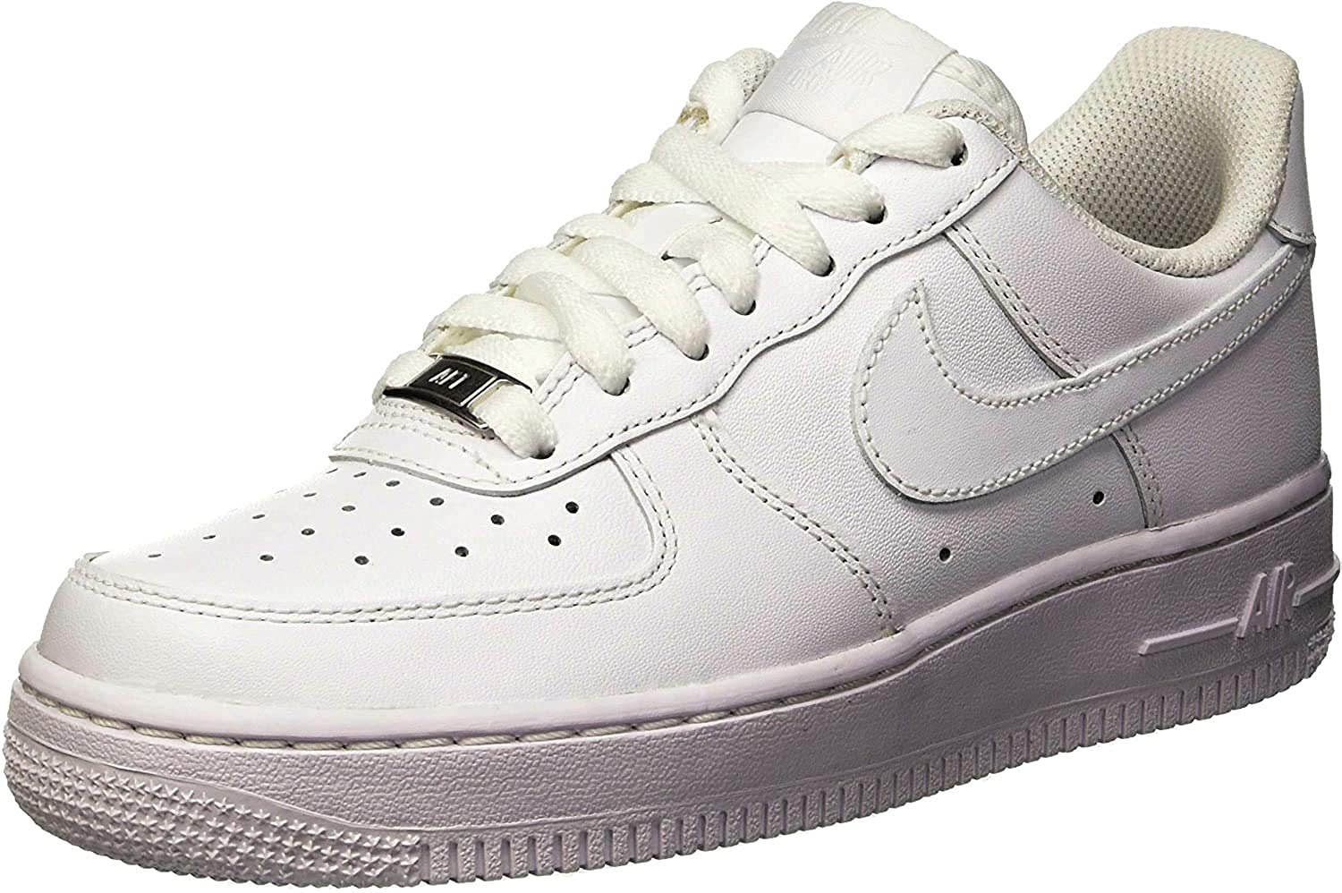 Womens Air Force 1 '07 by NIKE, available on revolve.com for $100 Hailey Baldwin Shoes Exact Product