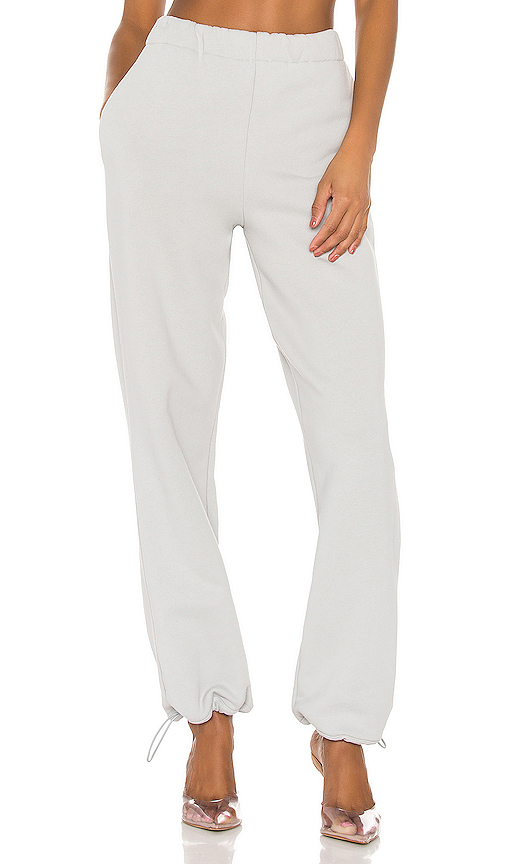 X CRK High Waisted Sweatpants by Vimmia, available on revolve.com for $178 Hailey Baldwin Pants SIMILAR PRODUCT