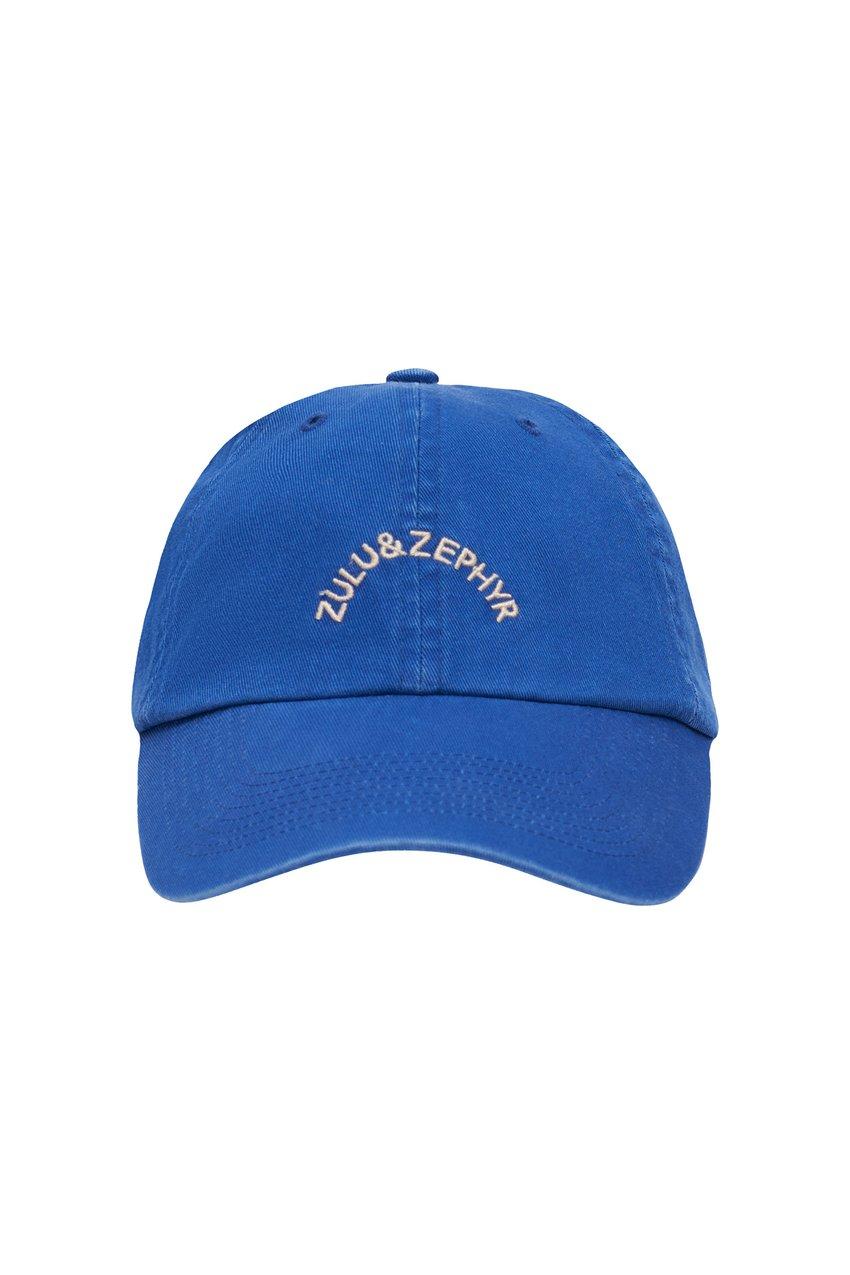 ZULU & ZEPHYR CANVAS CAP - SEA BLUE by ZULU & ZEPHYR, available on zuluandzephyr.com for $60 Hailey Baldwin Hat Exact Product