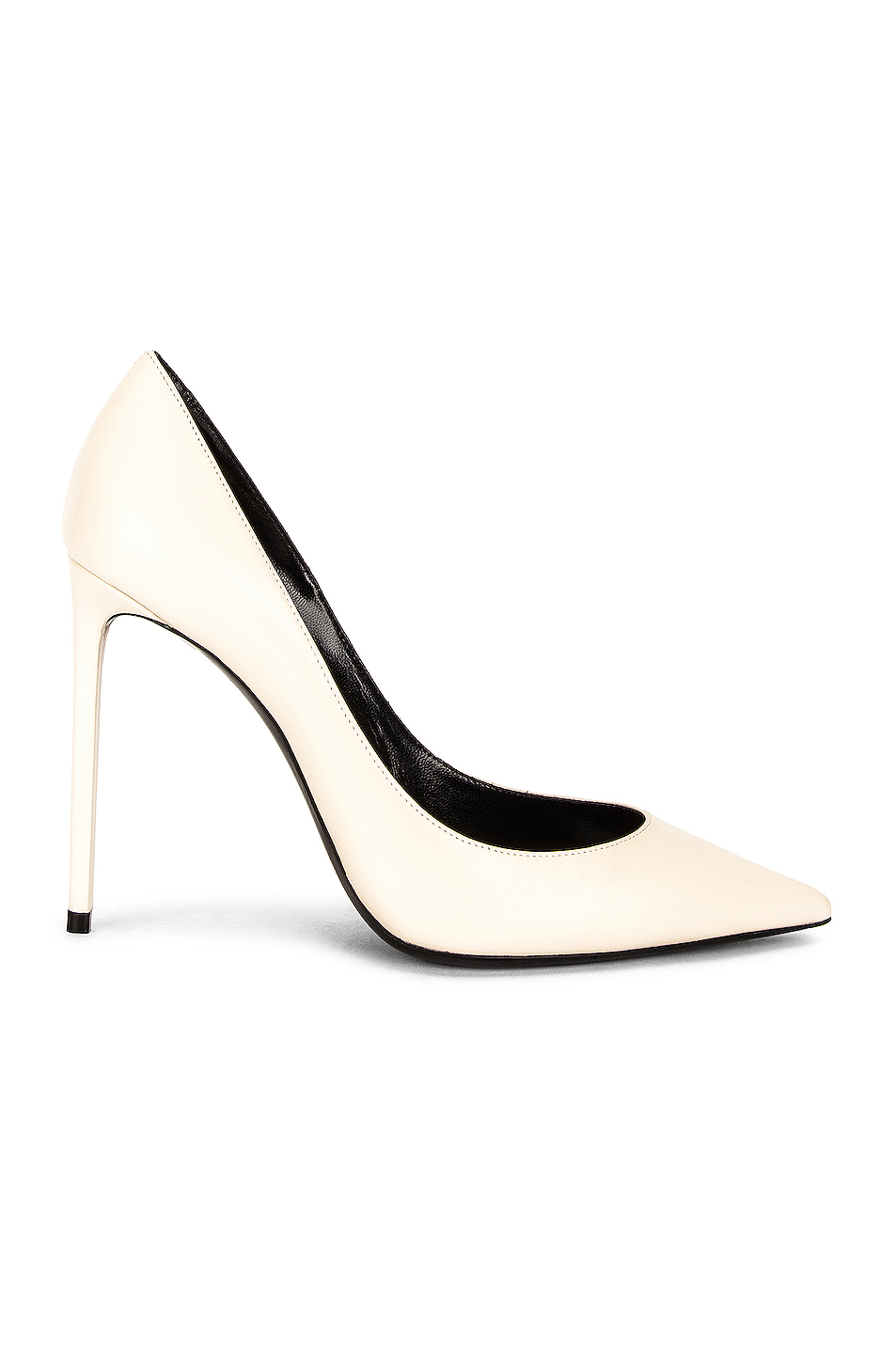 Zoe Pumps by SAINT LAURENT, available on fwrd.com for $645 Hailey Baldwin Shoes Exact Product