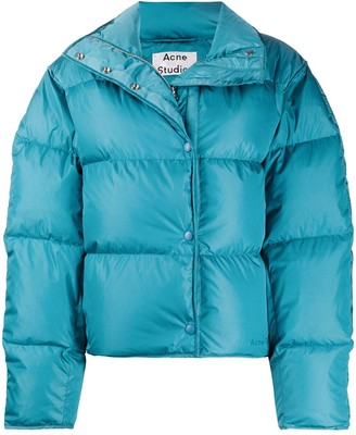 cropped padded jacket by Acne Studios, available on shopstyle.com for $800 Hailey Baldwin Outerwear SIMILAR PRODUCT