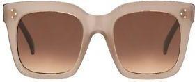 Cl 41076/S Tilda Gky/Pp Sunglasses by Celine, available on amazon.com Irina Shayk Sunglasses Exact Product