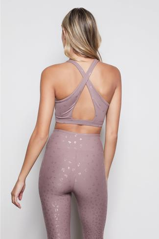 THE AFTERGLOW BRA   DUSK001 by Good American, available on goodamerican.com for $79 Jenna Dewan Top SIMILAR PRODUCT
